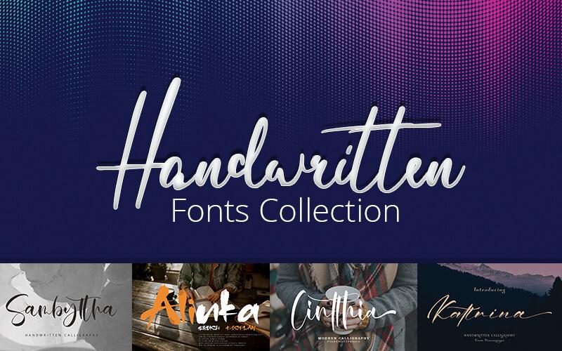 handwritten-fonts-collection